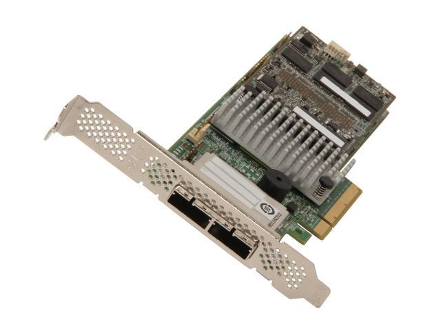 LSI MegaRAID LSI00333 (9286CV-8e) PCI-Express 3.0 x8 Low Profile SATA / SAS RAID Controller - Single--Avago Technologies