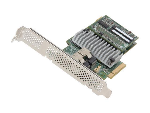 LSI MegaRAID LSI00326 (9270-8i) PCI-Express 3.0 x8 Low Profile SATA / SAS RAID Controller - Single--Avago Technologies