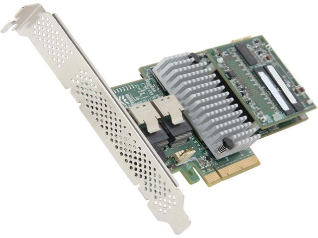 LSI MegaRAID LSI00327 (9270-8i) PCI-Express 3.0 x8 Low Profile SATA / SAS RAID Controller - Kit--Avago Technologies