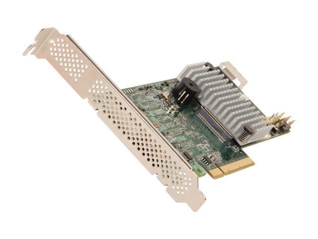 LSI MegaRAID LSI00328 (9271-4i) PCI-Express 3.0 x8 Low Profile SATA / SAS RAID Controller - Single