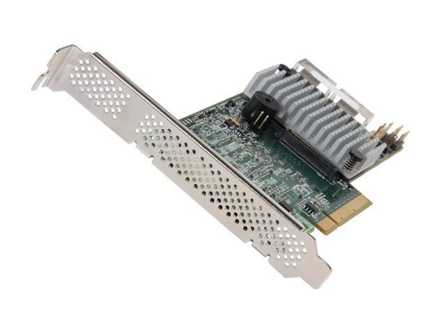 LSI MegaRAID LSI00330 (9271-8i) PCI-Express 3.0 x8 Low Profile SATA / SAS RAID Controller - Single