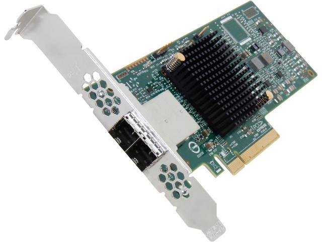 LSI 9300-8e PCI-Express 3.0 SATA / SAS 8-Port SAS3 12Gb/s HBA - Single--Avago Technologies