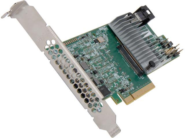 LSI 9300 MegaRAID SAS 9361-4i (LSI00415) PCI-Express 3.0 x8 Low Profile SATA / SAS High Performance Four-Port 12Gb/s RAID Controller (Single ...