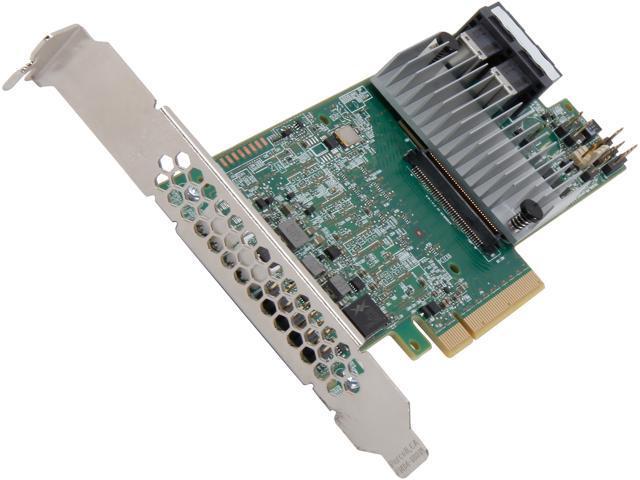 LSI MegaRAID SAS 9361-8i (LSI00416) PCI-Express 3.0 x8 Low Profile SATA / SAS High Performance Eight-Port 12Gb/s RAID Controller (Kit)