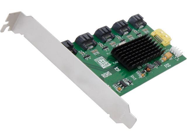 SYBA SI-PCI40074 SATA III (6.0Gb/s) 1:5 (5x1) Internal SATA II Port Multiplier (PM)