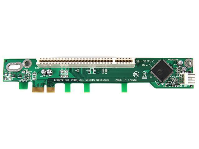 StarTech PEX1PCI1R PCI Express to PCI Riser Card x1 for Intel 1U IPC Server