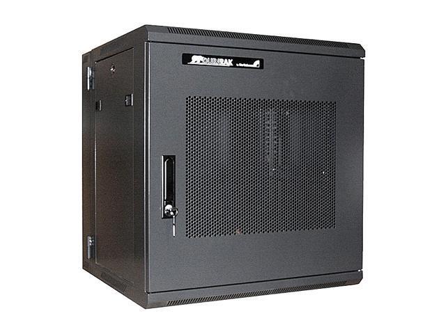 StarTech RK1219WALHM 12U 19in Hinged Wall Mount Server Rack Cabinet w/ Steel Mesh Door