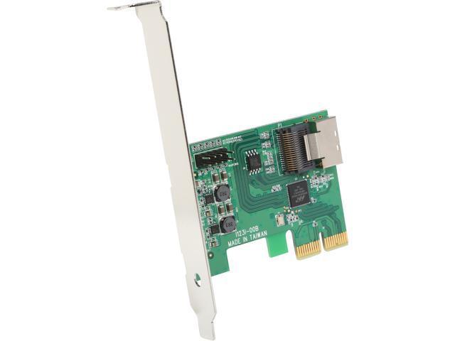 PEXSAT34SFF PCI-Express 2.0 SATA III (6.0Gb/s) RAID Controller Card w/ HyperDuo SSD Tiering