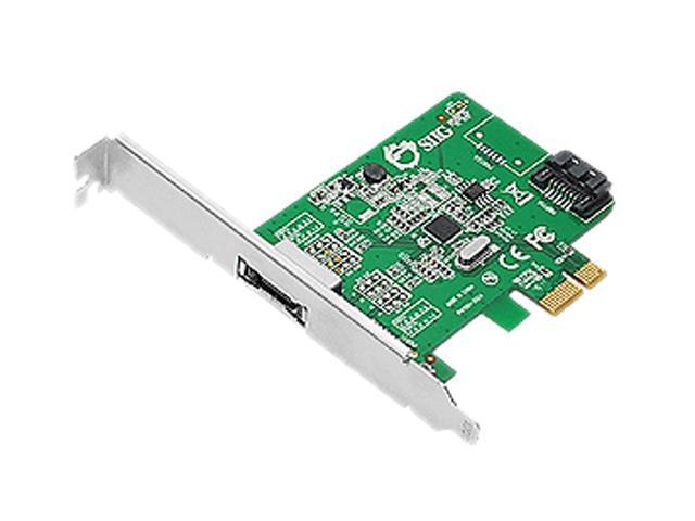 SIIG SC-SA0N11-S1 PCI-Express 2.0 Low Profile Ready SATA III (6.0Gb/s) 2-Port Host Adapter
