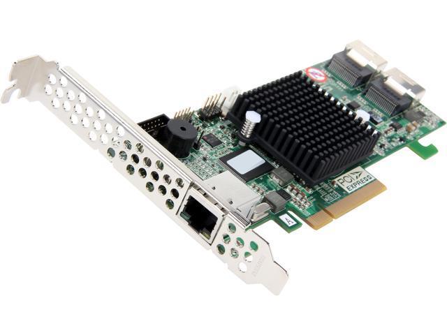 areca ARC-1224-8i PCI-Express 2.0 x8 SATA / SAS RAID Controller Card