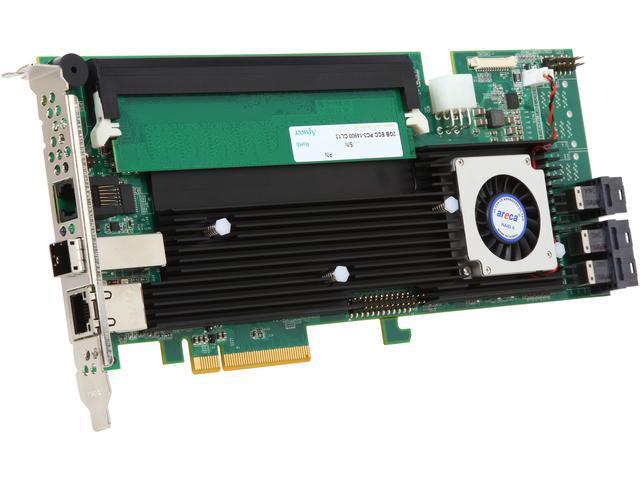 areca ARC-1883ix-12-243 PCI-Express 3.0 x8 SAS RAID Adapter