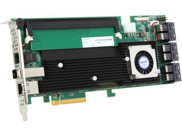 areca ARC-1883ix24-243 PCI-Express 3.0 x8 SAS RAID Adapter