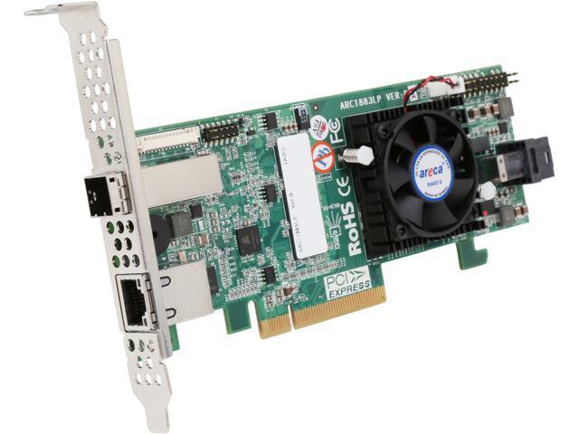 areca ARC-1883LP-43 PCI-Express 3.0 x8 SAS RAID Adapter