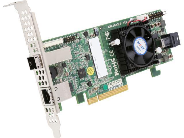 areca ARC-1883LP-SA PCI-Express 3.0 x8 SAS RAID Adapter