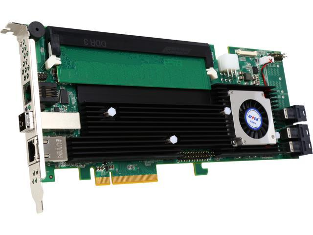 areca ARC-1883ix-12-487 PCI-Express 3.0 x8 SAS RAID Adapter