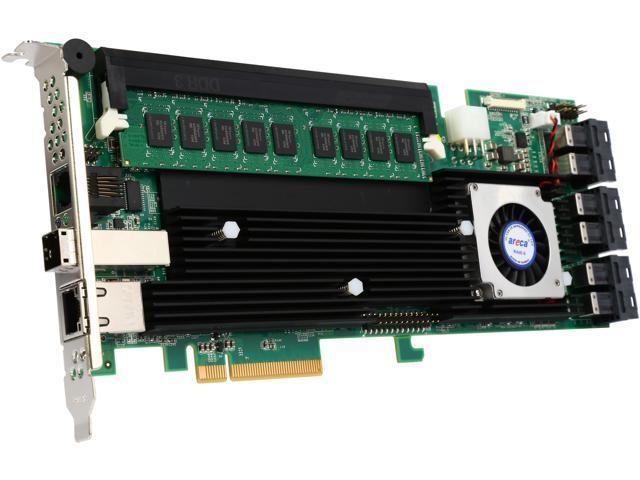 areca ARC-1883ix24-8G PCI-Express 3.0 x8 SAS RAID Adapter