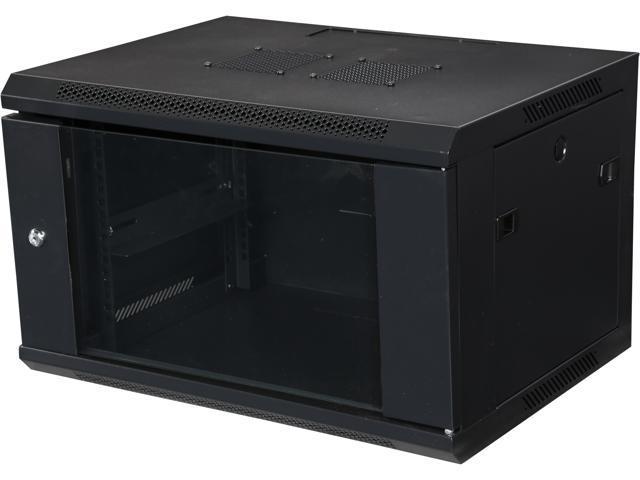 iStarUSA WM645B 6U 450mm Depth Wallmount Server Cabinet