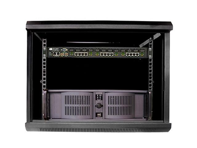iStarUSA WD-660-3PFS 6U 600mm Depth Wallmount Server Cabinet