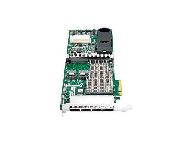 HP 487204-B21 PCI-Express x8 SATA / SAS Smart Array P812/1G FBWC RAID Controller Card