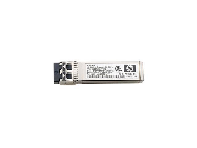 HP 8Gb Long Wave SFP Transceiver Module