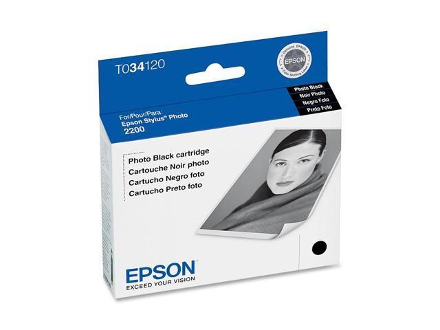 EPSON® T034120 Inkjet Cartridge f/ Stylus Pro 2200; Photo Black