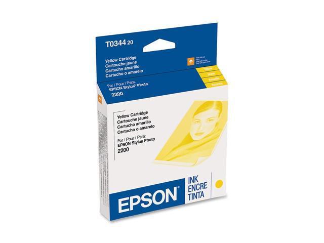 EPSON® T034420 Inkjet Cartridge for Stylus Pro 2200; Yellow