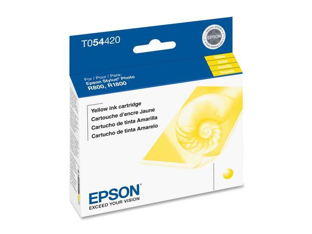 EPSON T054420 Photo Cartridge For Stylus Photo R800 Yellow