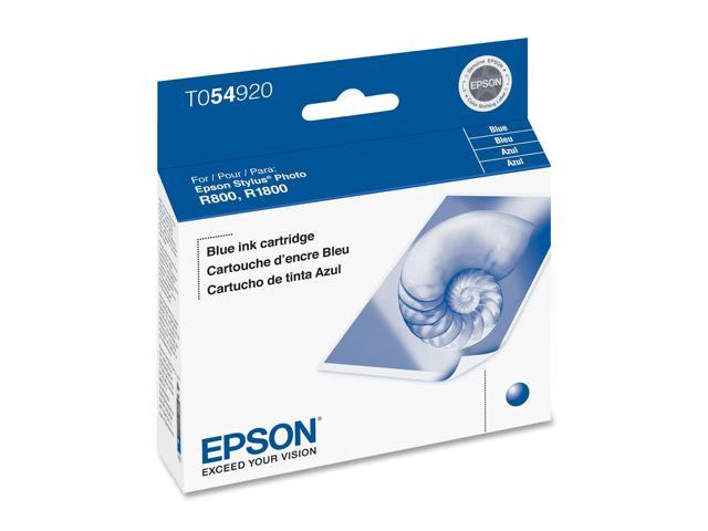 EPSON® T054920 Inkjet Cartridge for Stylus® Photo R800; Blue