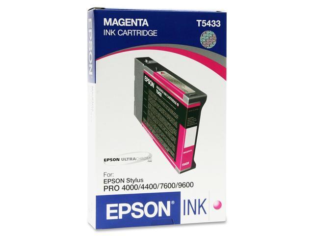 EPSON T543300 110 ml UltraChrome Ink Cartridge Magenta