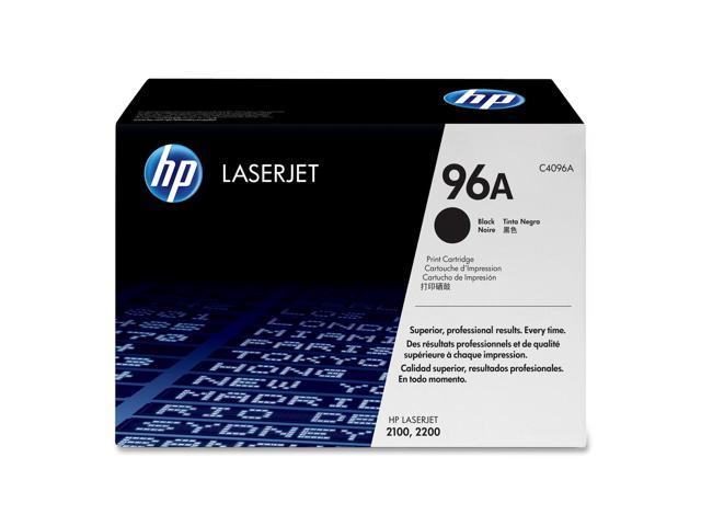 HP 96A Black Cartridge For LaserJet 2100 and 2200 (C4096A)