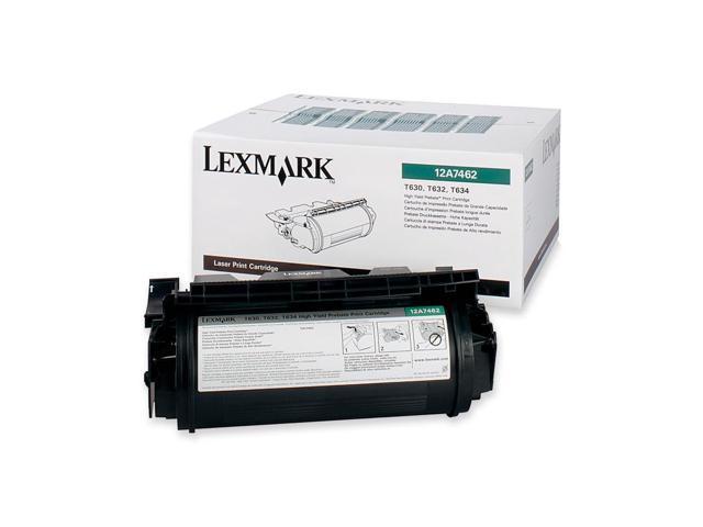 LEXMARK 12A7462 High Yield Return Program Print Cartridge Black