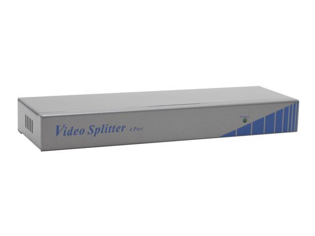 LINKSKEY LVS-004E 4-Ports Video Splitter w/ Enhanced Video (Cascadable)