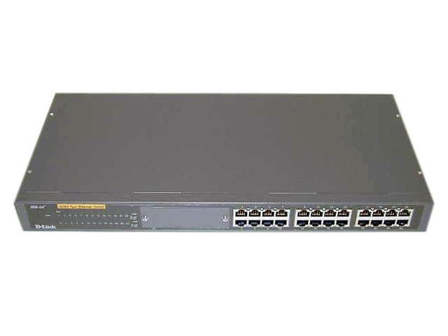 D-Link DSS-24+ Unmanaged Fast Ethernet Switch