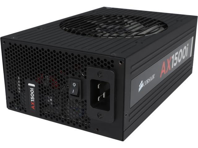 CORSAIR AX1500i CP-9020057-NA 1500W ATX12V / EPS12V 80 PLUS Titanium certified Full Modular Power Supply