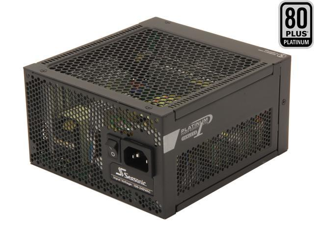 SeaSonic Platinum Series SS-400FL2 Active PFC F3 400W ATX12V Fanless 80 PLUS Platinum Certified Modular Active PFC Power Supply New 4th Gen CPU ...