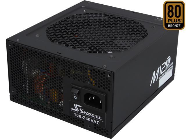 SeaSonic M12II 850 SS-850AM 850W ATX12V / EPS12V SLI Ready 80 PLUS BRONZE Certified Full-Modular Active PFC FULL-modular Power Supply New 4th Gen ...