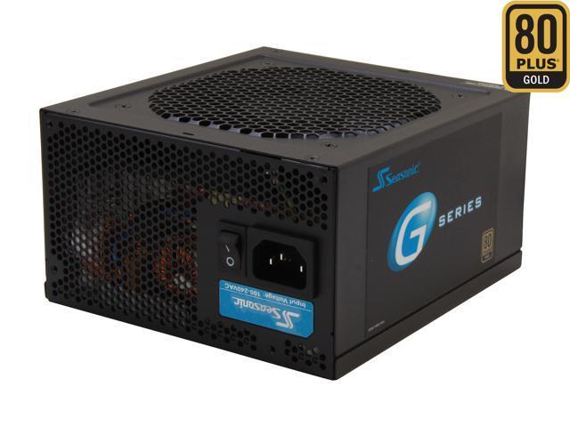 SeaSonic G Series SSR-550RM 550W ATX12V / EPS12V SLI Ready CrossFire Ready 80 PLUS GOLD Certified Modular Active PFC Power Supply New 4th Gen CPU ...