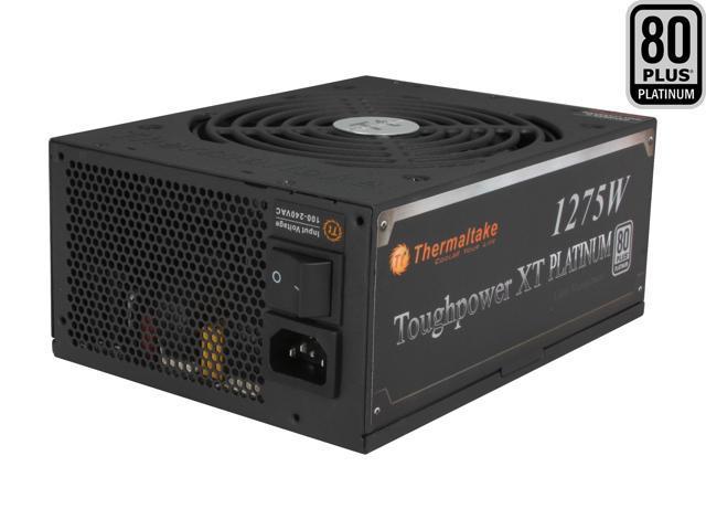Thermaltake Toughpower XT TPX-1275M 1275W ATX 12V 2.3 & SSI EPS 12V 2.92 SLI Ready CrossFire Ready 80 PLUS PLATINUM Certified Modular Active PFC ...