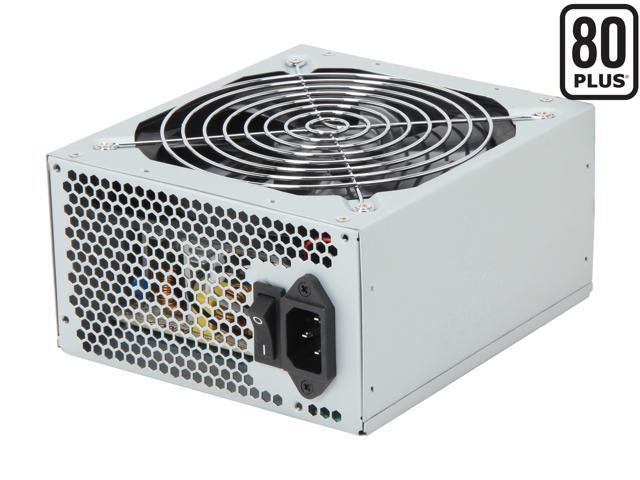 COOLMAX ZX Series ZX-500 500W ATX12V v2.2 / EPS12V v2.91 SLI Ready CrossFire Ready 80 PLUS Certified Active PFC Power Supply