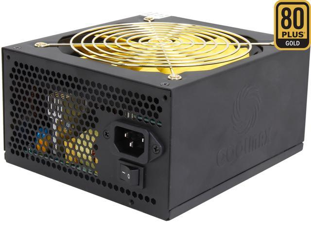 COOLMAX ZPG-700B 700W ATX12V / EPS12V SLI Ready CrossFire Ready 80 PLUS GOLD Certified Power Supply