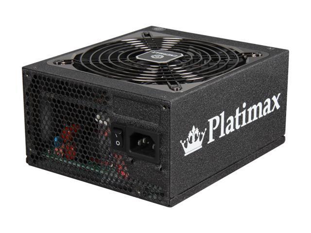 ENERMAX Platimax EPM850EWT 850W ATX12V / EPS12V SLI Ready CrossFire Ready 80 PLUS PLATINUM Certified Modular Power Supply New 4th Gen CPU ...
