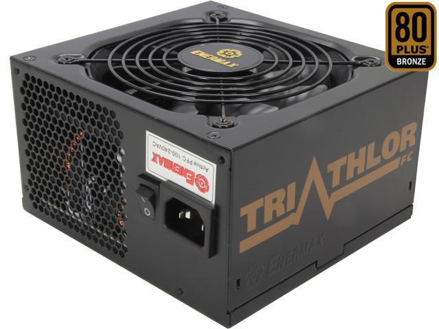 ENERMAX TRIATHLOR ETA650AWT-M 650W ATX12V SLI Ready CrossFire Ready 80 PLUS BRONZE Certified Modular Active PFC Power Supply New 4th Gen CPU ...