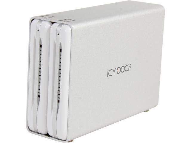 ICY DOCK MB662U3-2S Dual Bay SuperSpeed USB 3.0 RAID Enclosure