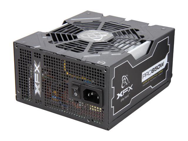 XFX Core Edition PRO850W (P1-850S-NLB9) 850W ATX12V / EPS12V SLI CrossFire 80 PLUS BRONZE Certified Active PFC Power Supply