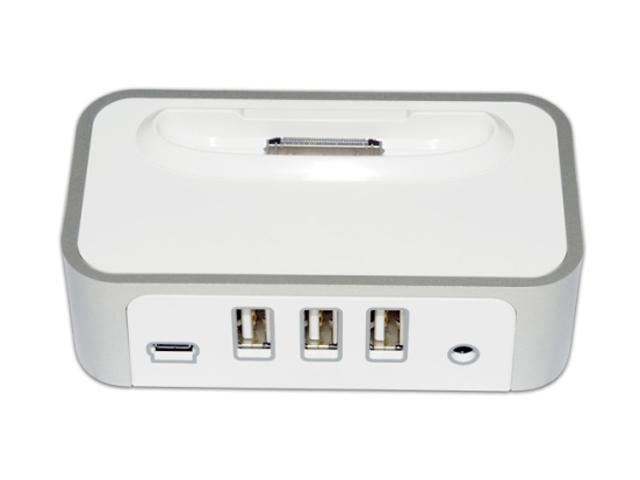 CyberPower CPH320AP Power Charging Dock & 3-Port USB Hub