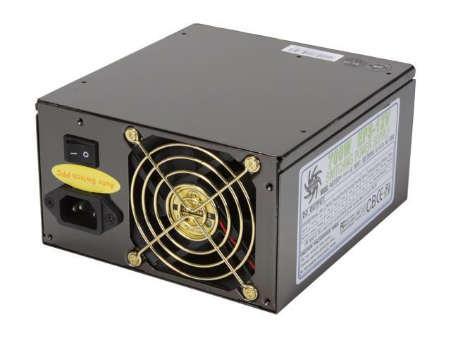 Athena Power AP-P4ATX70FEP EPS12V Ver. 2.92 SLI Ready CrossFire Ready Active PFC Supports Intel Core i7 & Skulltrail Platform Systems Server ...
