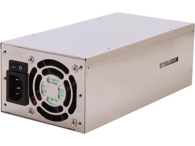 Athena Power AP-U2ATX60FEP8 20+4Pin 600W Single Server Power Supply - 80PLUS Bronze