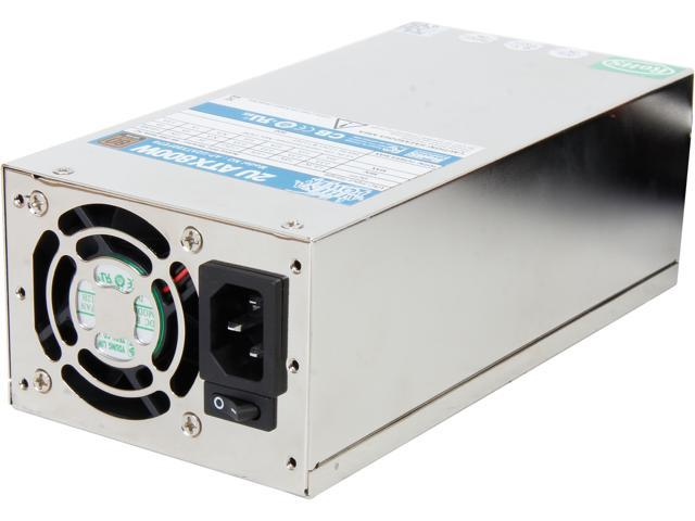 Athena Power AP-U2ATX80FEP8 20+4Pin 800W Single 2U IPC Server Power Supply - 80PLUS Bronze