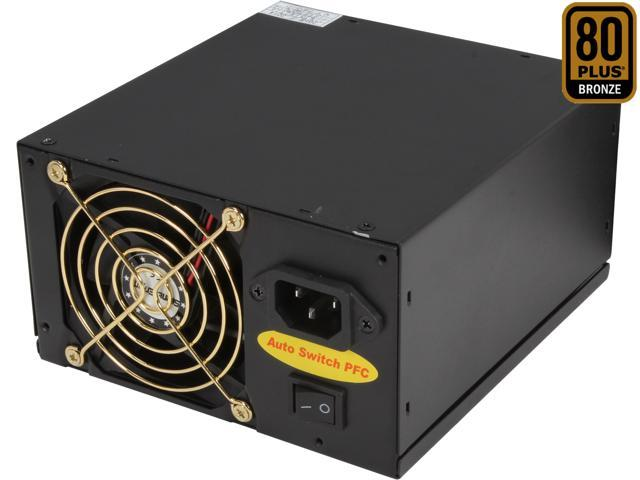 Athena Power AP-P4ATX80FEP8 800W Power Supply SLI & Crossfire Ready ATX12V2.31 & EPS12V2.92 Active PFC & 80PLUS BRONZE Certified
