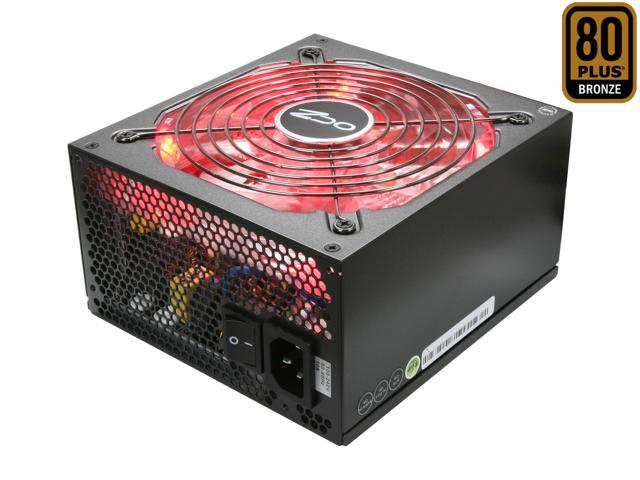 FirePower 750FTY Fatal1ty 750W 80Plus Bronze Semi-Modular Gaming ATX PC Power Supply - Formerly PC Power & Cooling